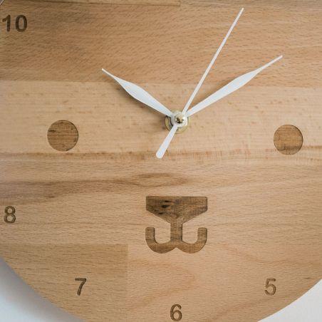 Ursulică - ceas pentru camera copiilor, detaliu