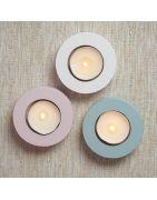 Suporturi din lemn pentru lumânări